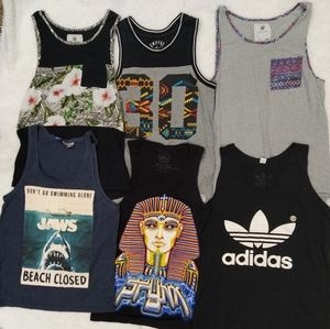 Mens tank tops size Small
